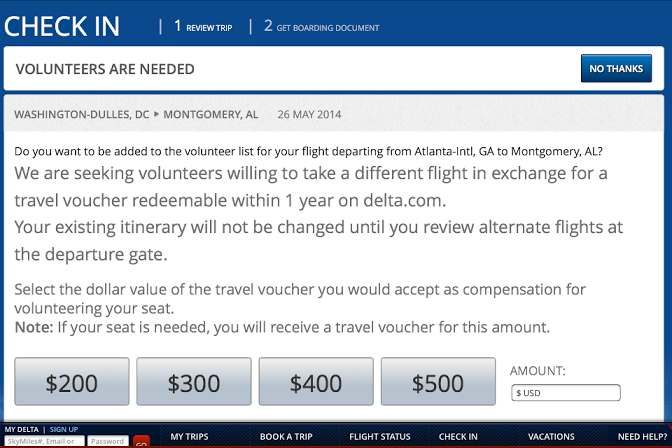 Economics Is All Around You: Delta OnlineCheck-In