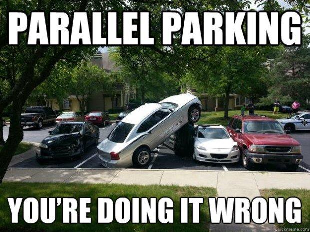 parking meme
